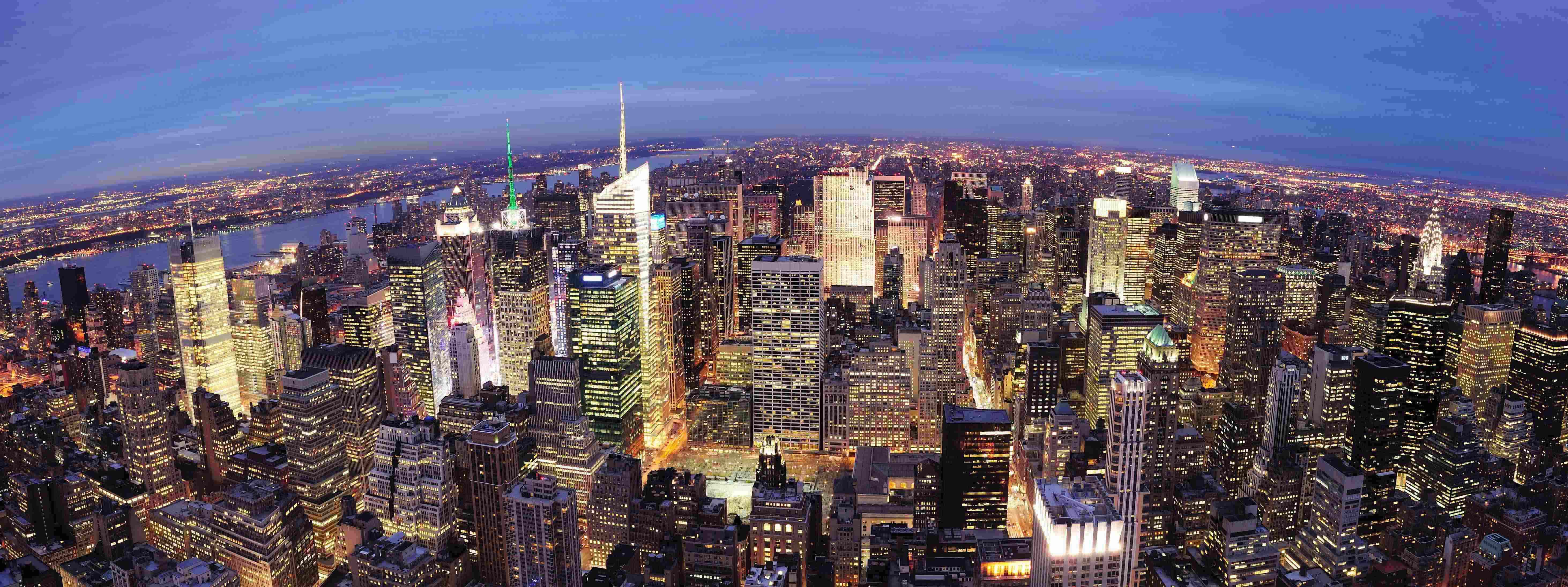 AVB faciliteert wereldwijd zaken doen. (Manhattan vogelvlucht)